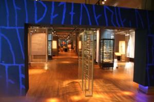 Eingang zur Wikingerausstellung im SHM
