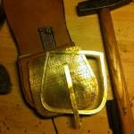 Tasche aus Bj819 im noch nicht zusammengebauten Zustand.