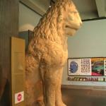 Löwenstatue aus Piräus mit Runeninschrift