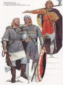 "Waräger aus ""Byzantine Armies"", Osprey Publishing"